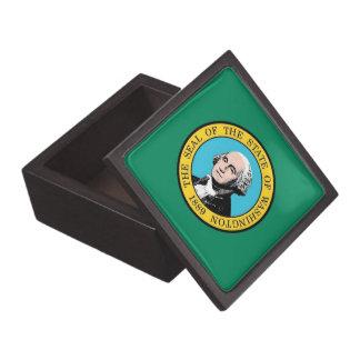 ワシントン州の旗の優れたギフト用の箱 ギフトボックス