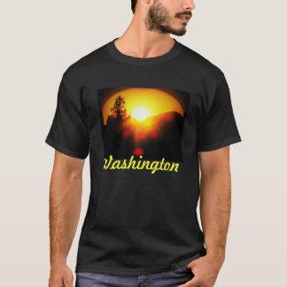 ワシントン州の日没 Tシャツ