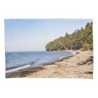 ワシントン州の海の海岸ライン枕箱 枕カバー