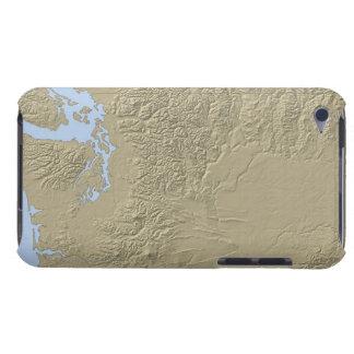 ワシントン州の立体模型地図 Case-Mate iPod TOUCH ケース
