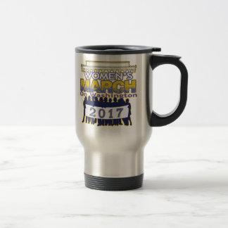 ワシントン州の2017年のコーヒー・マグの百万のレディース3月 トラベルマグ