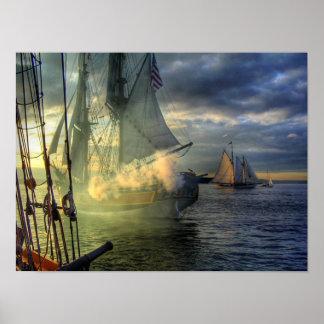 ワシントン州女性高い船 ポスター