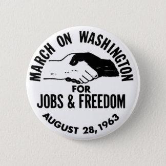 ワシントン州1963年の3月 5.7CM 丸型バッジ