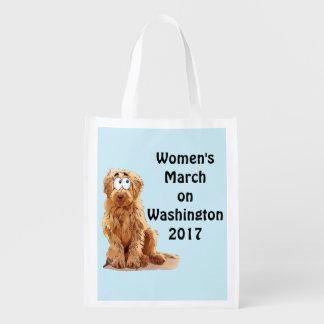 ワシントン州2017年の女性の3月 エコバッグ