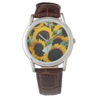 ワシントン州、シアトルの販売の穂先のためのヒマワリ 腕時計