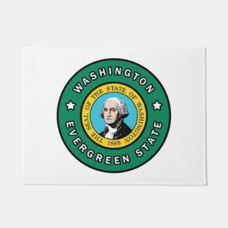 ワシントン州 ドアマット