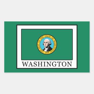 ワシントン州 長方形シール