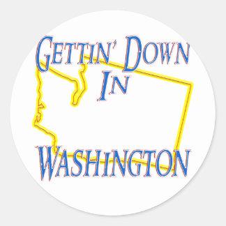 ワシントン州- Getting ラウンドシール