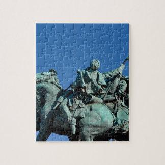 ワシントン州DC_の内戦の兵士の彫像 ジグソーパズル