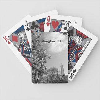 ワシントン記念塔のカジノカード バイスクルトランプ