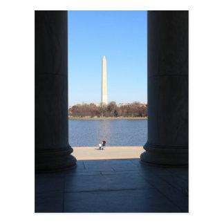 ワシントン記念塔 ポストカード