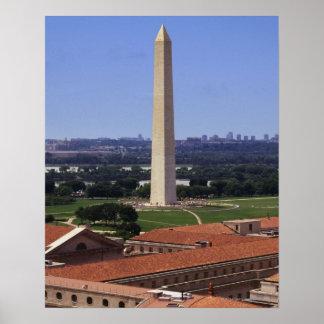 ワシントン記念塔、Washington D.C. ポスター