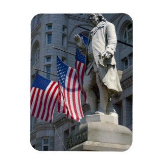 ワシントンD.C.、のベンジャミン・フランクリンの彫像 マグネット