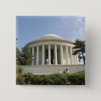 ワシントンD.C.。 トーマス・ジェファーソンの記念物 缶バッジ
