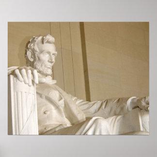 ワシントンD.C.、リンカーン記念館 ポスター