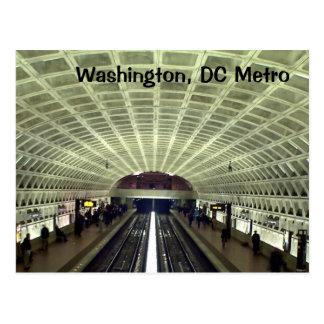 ワシントンD.C.、: 地下鉄駅 ポストカード