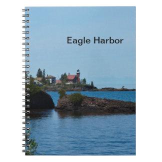ワシ港の灯台 ノートブック
