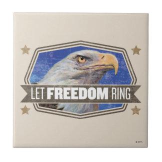 ワシ自由のリング タイル