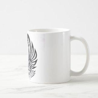 ワシ、種族タカ コーヒーマグカップ