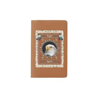 ワシ-精神のノートのモールスキンカバー ポケットMoleskineノートブック