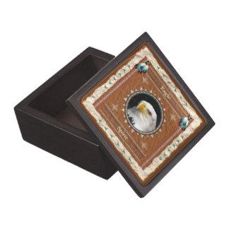 ワシ-精神の木製のギフト用の箱 ギフトボックス
