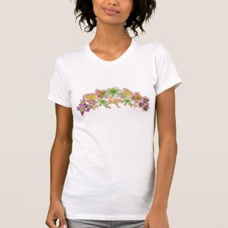 ワスレグサのコラージュのTシャツ Tシャツ