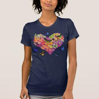 ワスレグサのハート Tシャツ