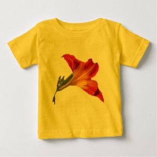 ワスレグサの背部2 ベビーTシャツ