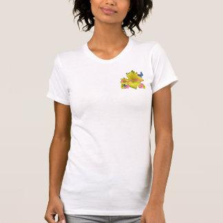 ワスレグサの花型女性歌手 Tシャツ