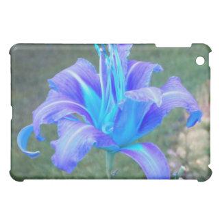 ワスレグサ: 紫色Nの青いiPadの箱 iPad Miniケース