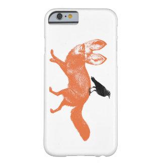 ワタリガラスおよびキツネ BARELY THERE iPhone 6 ケース