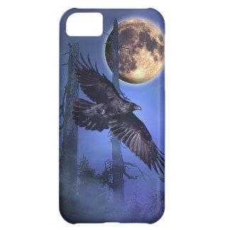 ワタリガラスおよび月のファンタジーの野性生物のiPhoneの場合 iPhone5Cケース