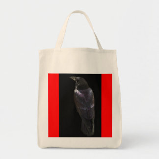 ワタリガラスのハロウィンの魔法をかける動物のデザイン トートバッグ