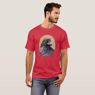 ワタリガラスのポートレート Tシャツ
