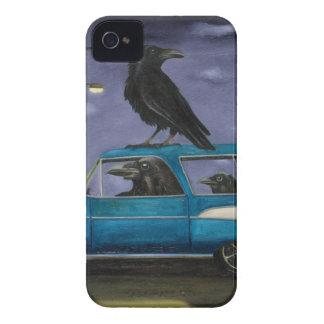ワタリガラスの乗車 Case-Mate iPhone 4 ケース