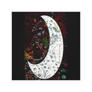 ワタリガラスの月 キャンバスプリント