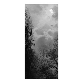 ワタリガラスの棚カードテンプレートの幽霊のよく出るな空 ラックカード