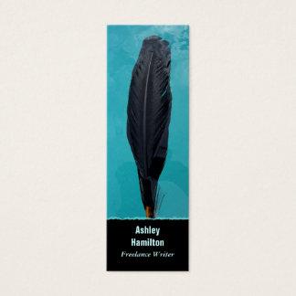 ワタリガラスの羽 スキニー名刺