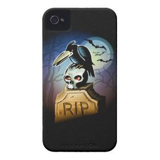 ワタリガラスの` sのスカルのiphone 4ケース Case-Mate iPhone 4 ケース