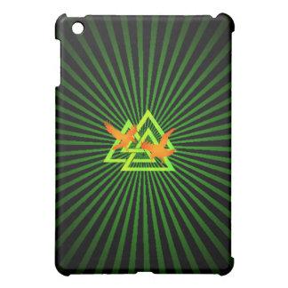 ワタリガラスのValknut Speckの場合3 iPad Mini Case