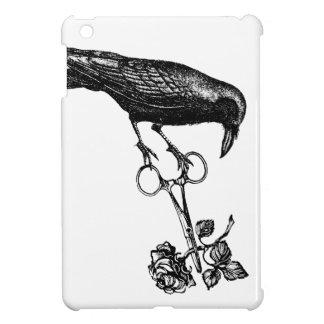 ワタリガラスはバラを盗みます iPad MINIカバー