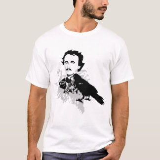 ワタリガラスを持つエドガーアレンPoe Tシャツ