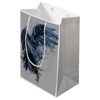 ワタリガラス ミディアムペーパーバッグ