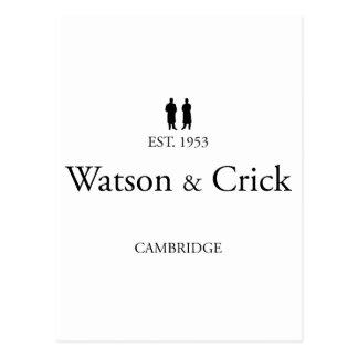 ワトソン及びCrick ポストカード