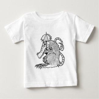 ワニのラット ベビーTシャツ