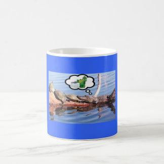 ワニの夕食 コーヒーマグカップ