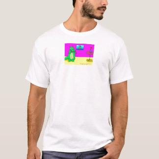 ワニの振ること Tシャツ