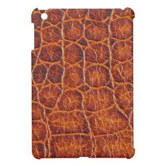 ワニの皮のプリント iPad MINIケース