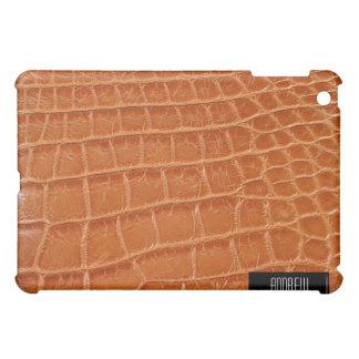 ワニの皮のiPad iPad Miniケース