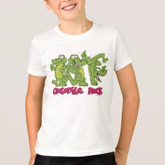 ワニの石のティー Tシャツ